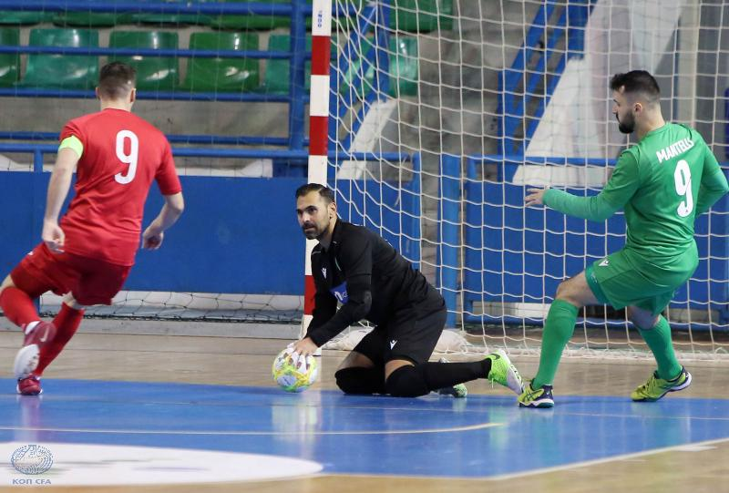 Futsal Champions League: Ομόνοια - MVFC Berettyóújfalu 0-2